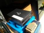 USB 3 HDD Enclosures, housing 7200 RPM 500 GB drives each.